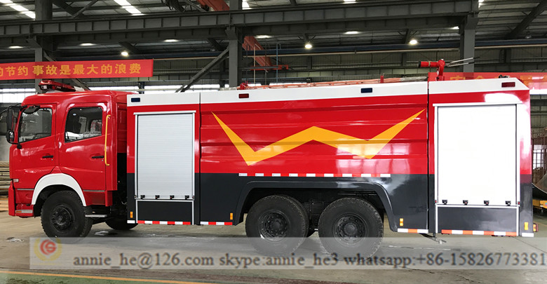 Rescue airport fire truck