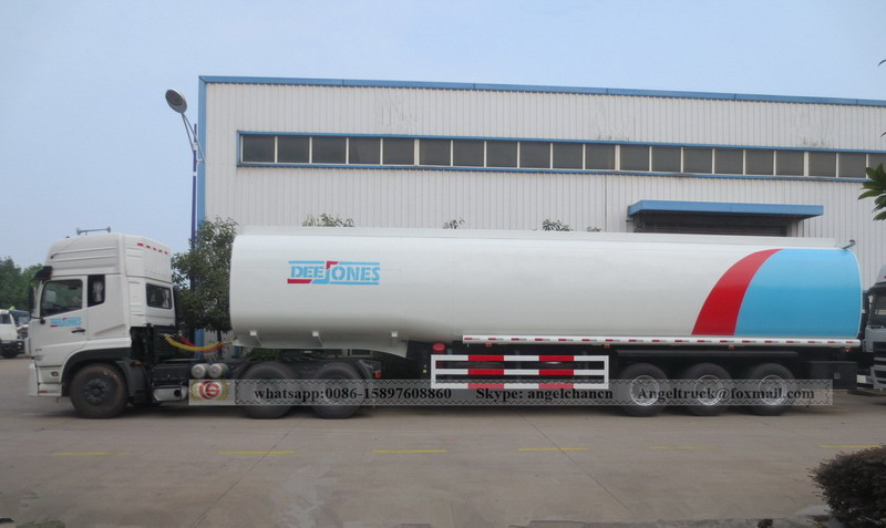 Dongfeng gasoline semi-trailer
