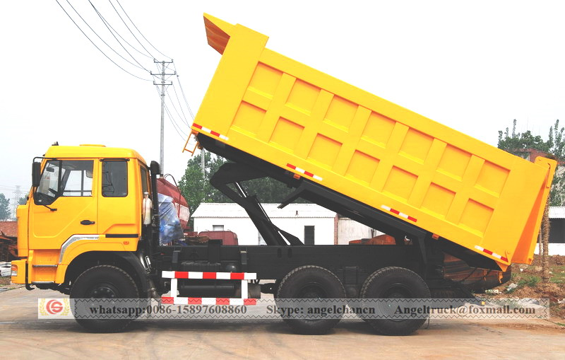 Tipper lorry truck