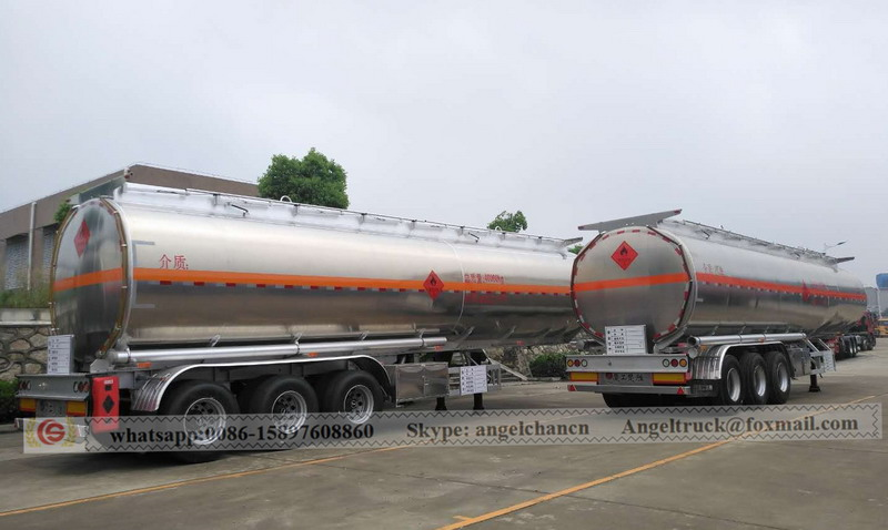Aluminium fuel transportation truck