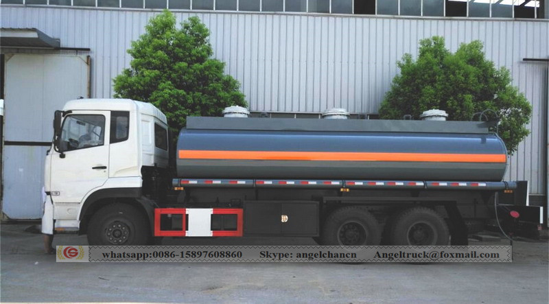 sulphuric acid transport truck