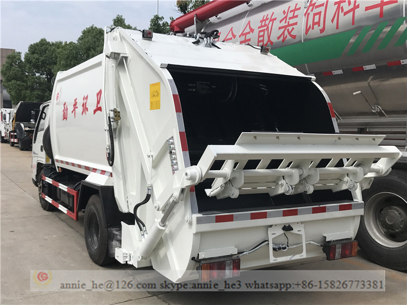 6,000L trash truck for sale