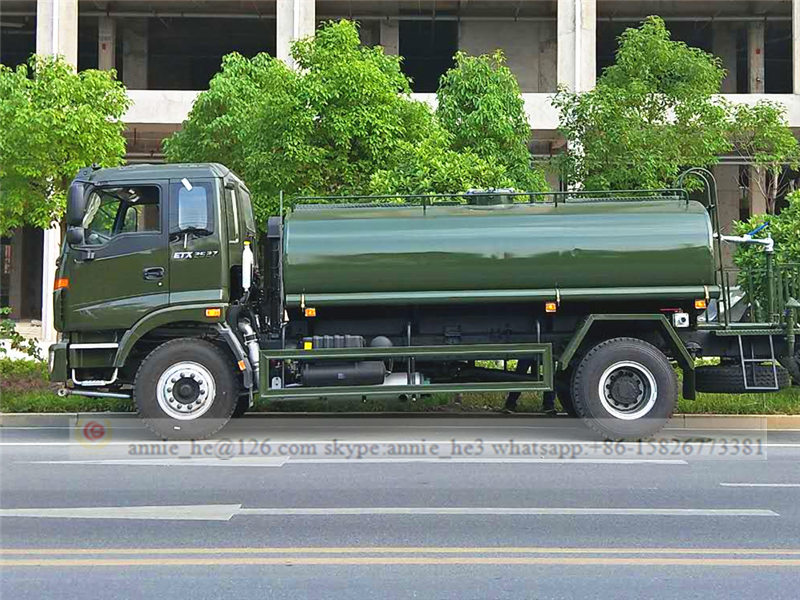 Foton water truck price