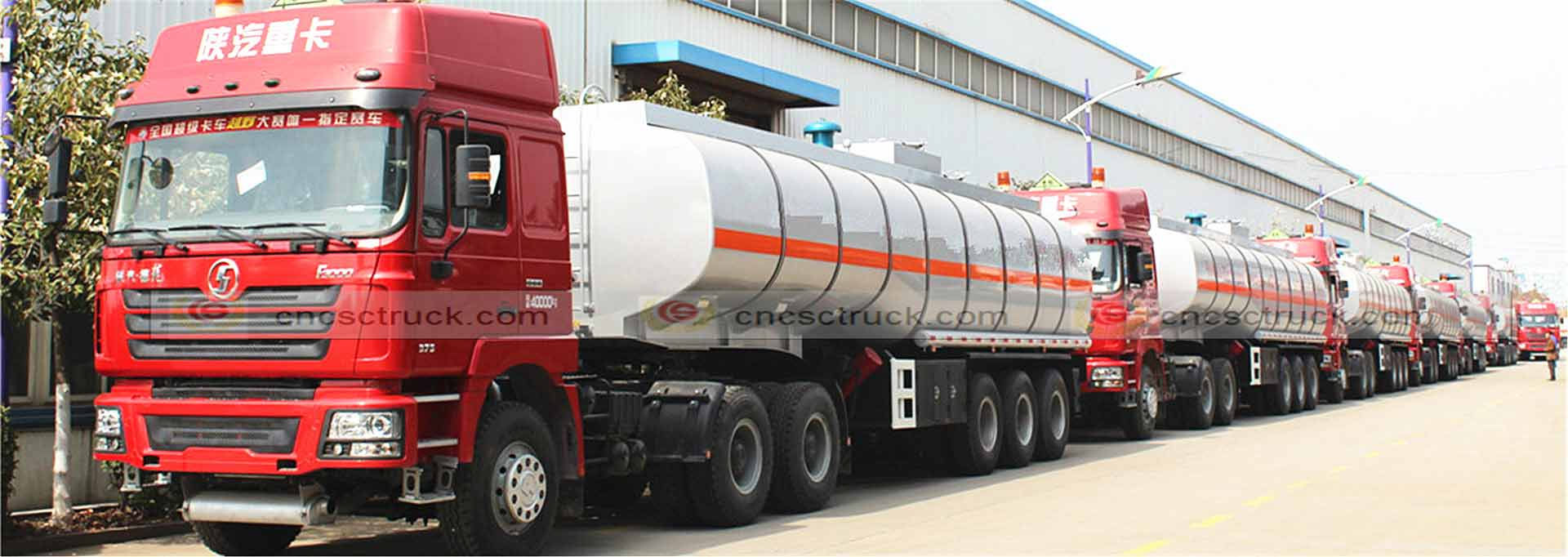 Aluminium Tank Semi Trailer Supplier