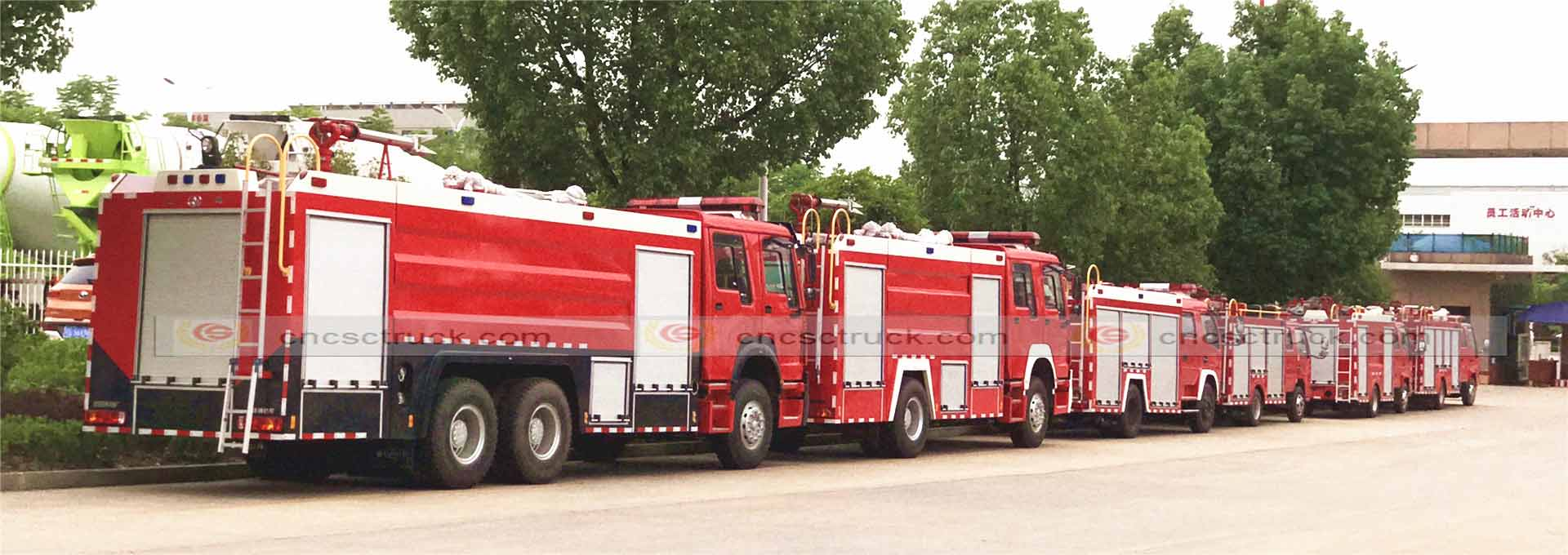 China Fire Fighting Truck Supplier